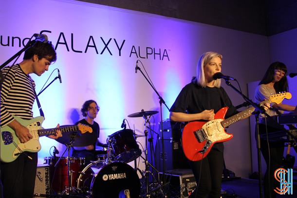 Alvvays Samsung Galerie Alpha in Toronto
