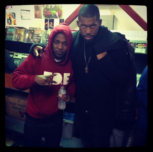 Flying Lotus - Never Catch Me Kendrick Lamar