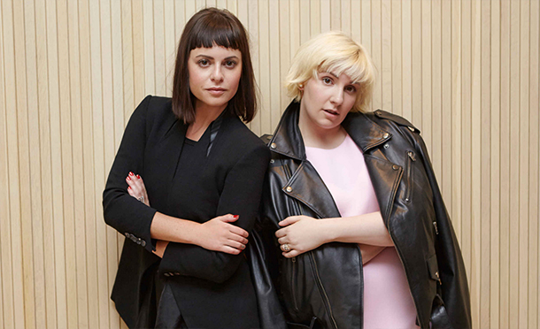 Nasty Gal founder Sophia Amoruso (left) and writer/funny girl Lena Dunham (right)