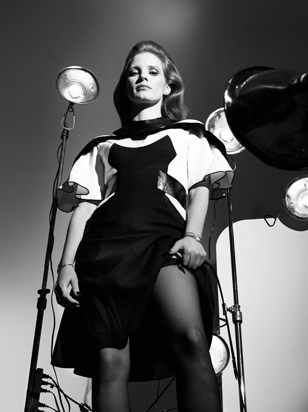 Jessica Chastain for Interview Magazine October 2014 -3