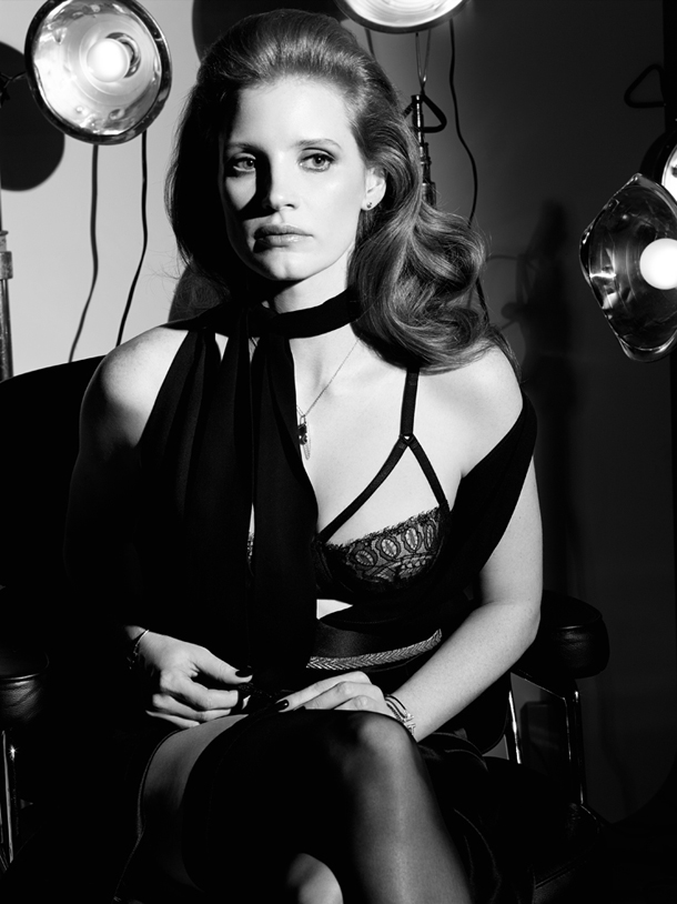 Jessica Chastain for Interview Magazine October 2014 -5