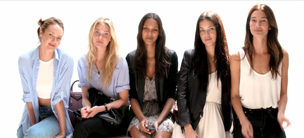 Victoria S Secret Angels For Vogue Uk November 2014