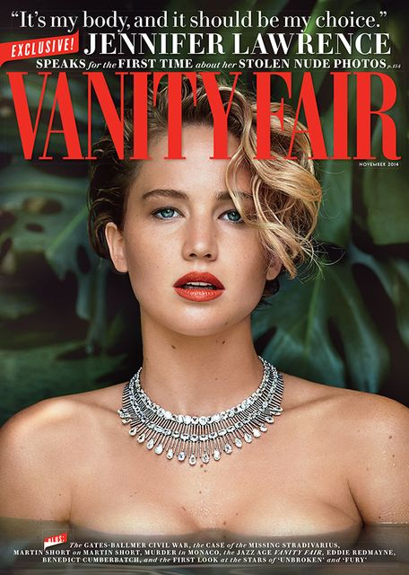 Jennifer Lawrence for Vanity Fair November 2014
