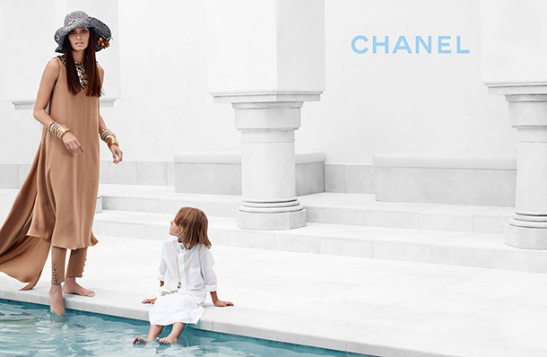 Joan Smalls for Chanel Cruise 2015-2