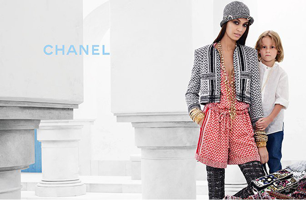 Joan Smalls for Chanel Cruise 2015-3