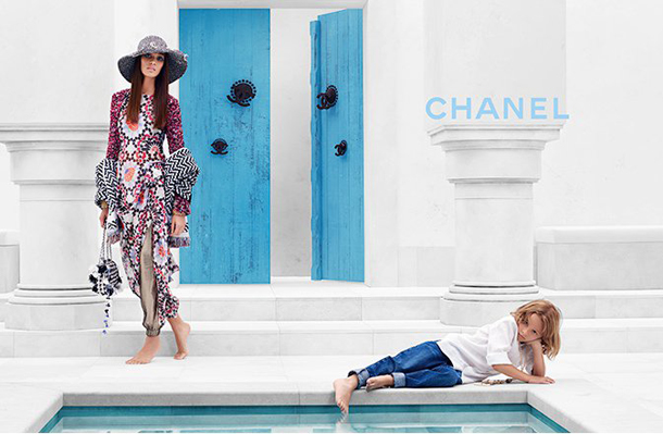 Joan Smalls for Chanel Cruise 2015-6