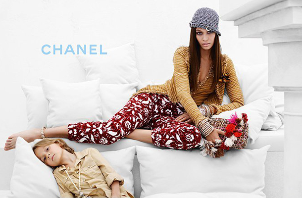 Joan Smalls for Chanel Cruise 2015-8