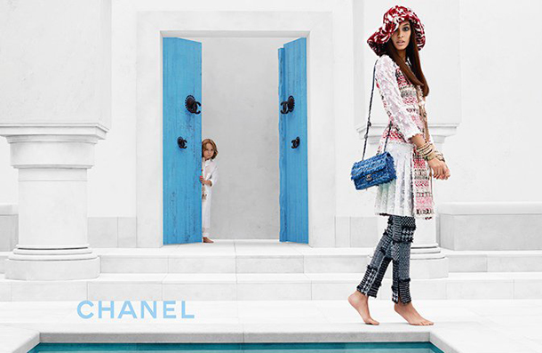 Joan Smalls for Chanel Cruise 2015