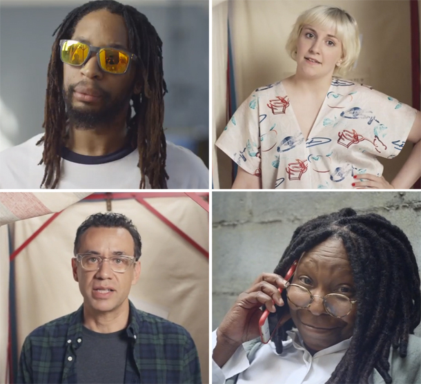 Rock The Vote #TURNOUTFORWHAT ft. Lil John, Lena Dunham, Whoopi Goldberg, Fred Armisen