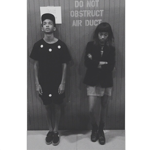Jaden Smith Willow Melancholy together