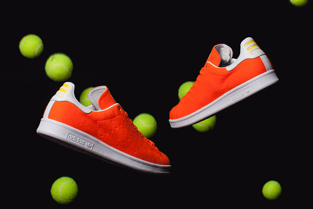 Pharrell x adidas Originals Stan Smith Tennis - orange