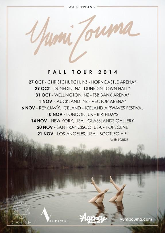 Yumi Zouma- Tour Dates
