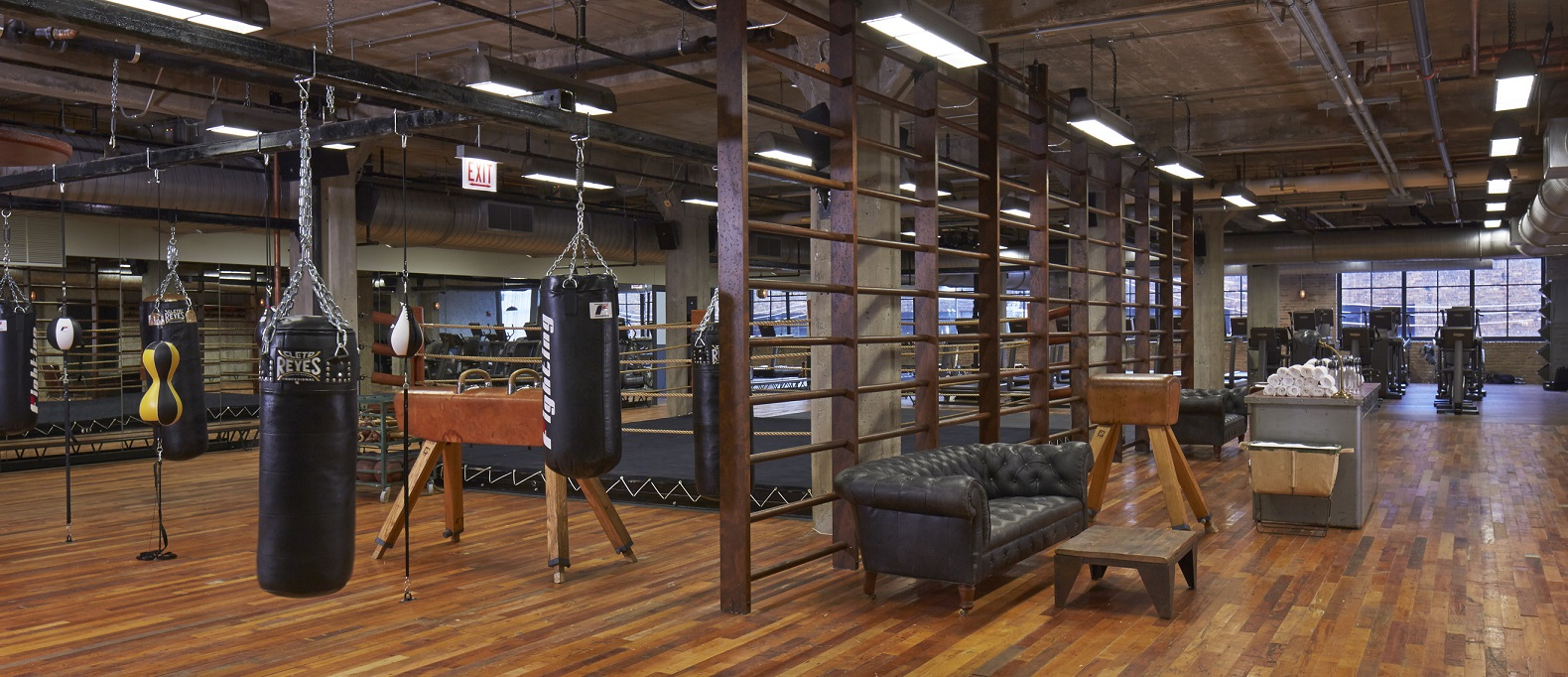 Soho House Chicago_Gym_photo credit is Dave Burk of Hedrich Blessing