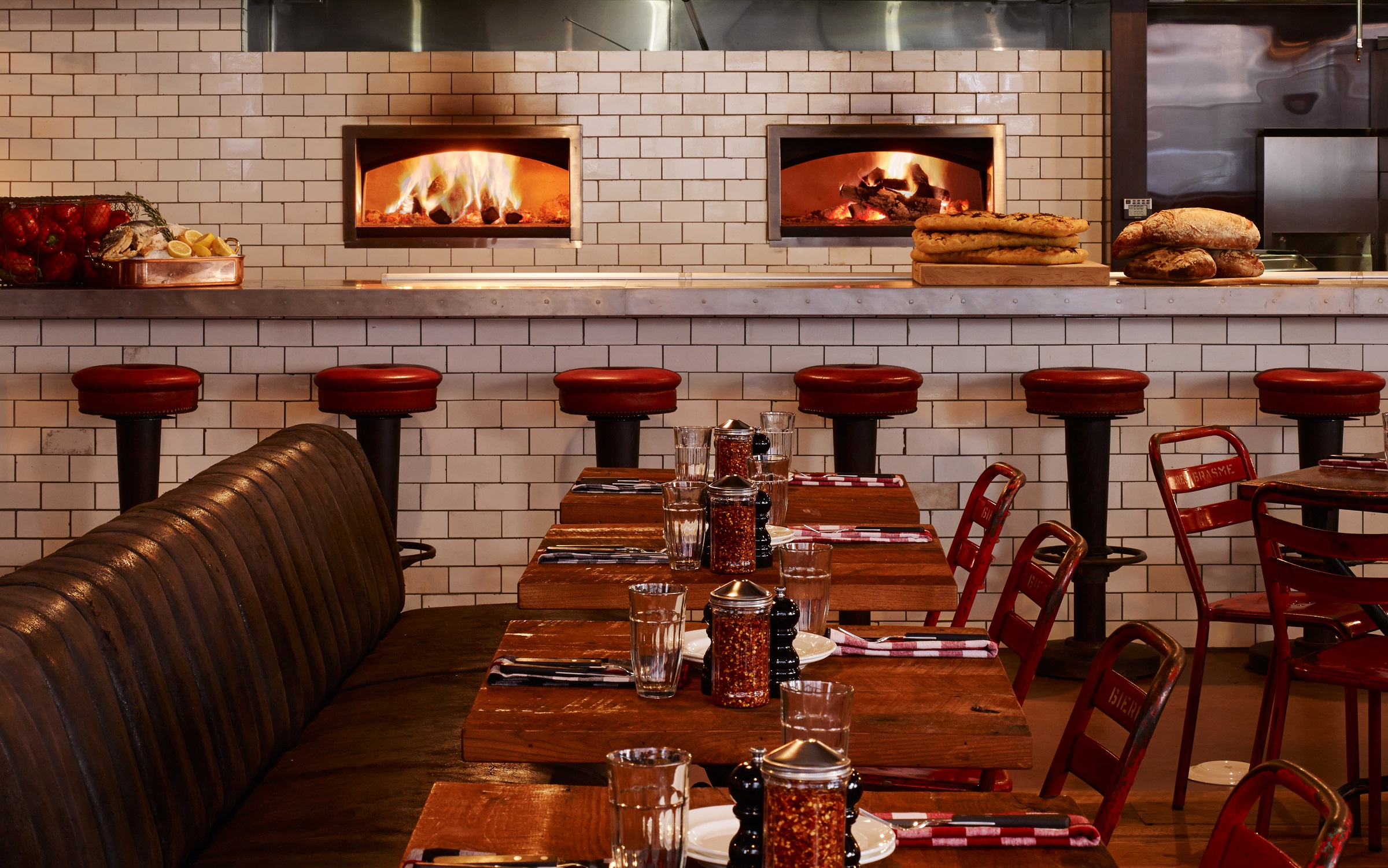 Soho House Chicago_Pizza East_photo credit is Dave Burk of Hedrich Blessing