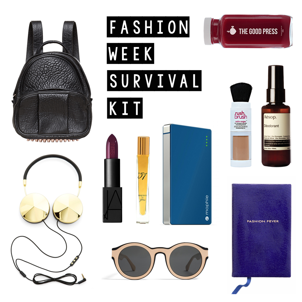 Fashion Week Survival Kit