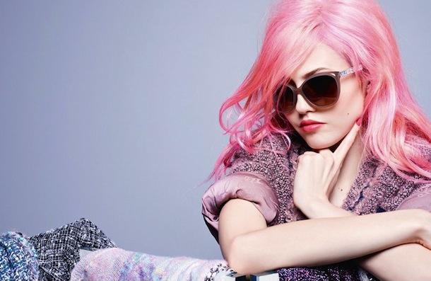 Charlotte Free for Chanel Eyewear Fall 2014