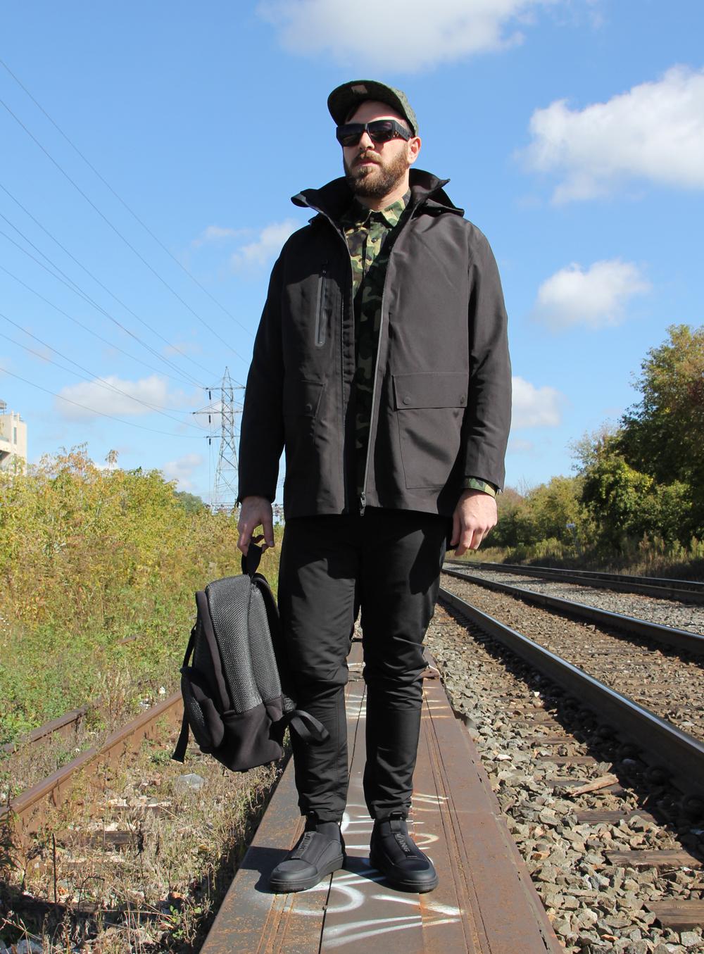 Alexander Wang x HM - Sidewalk Hustle Lookbook - Standing