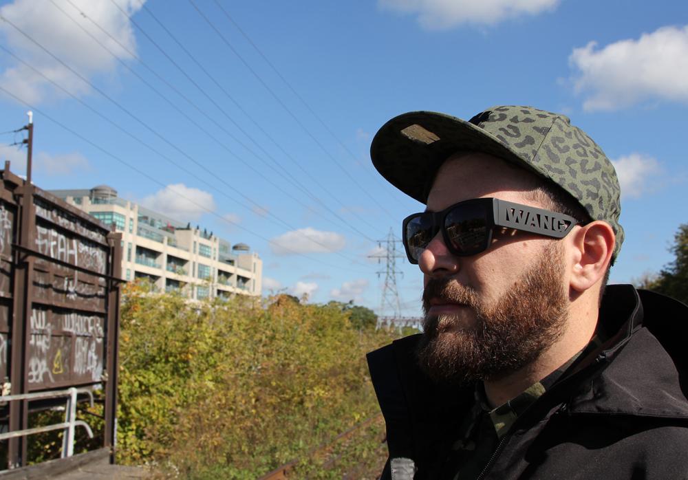 Alexander Wang x HM - Sidewalk Hustle Lookbook - glasses