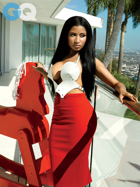 Nicki Minaj for GQ November 2014 Issue 1