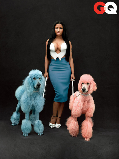 Nicki Minaj for GQ November 2014 Issue
