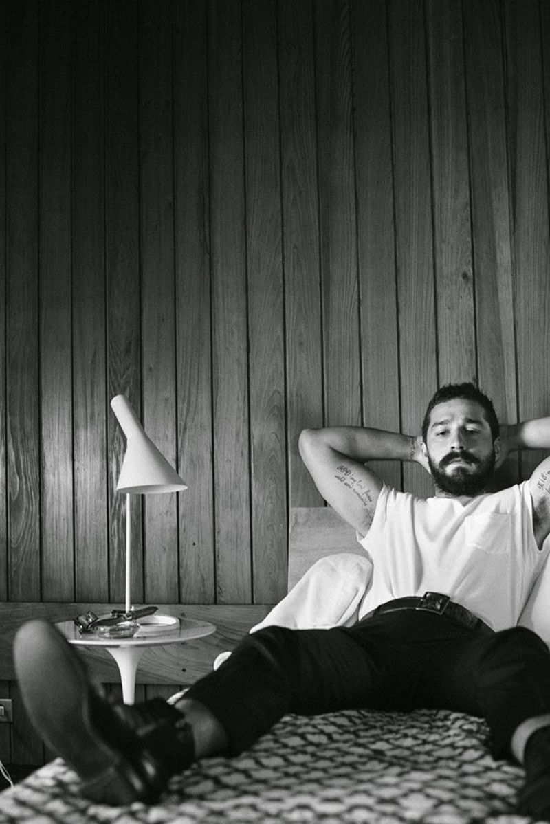Shia LaBeouf for Interview Magazine - 1
