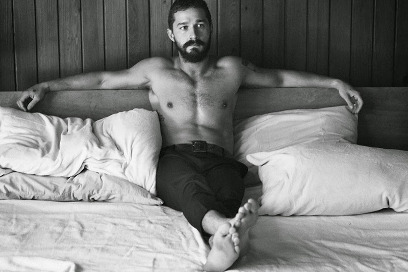 Shia LaBeouf for Interview Magazine