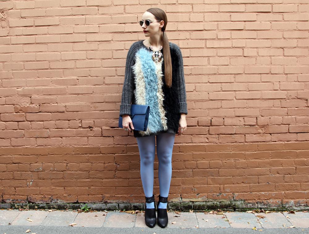 Toronto Fashion Week Outfit 2014 Miista, Moscot, J.Crew, Ela-2