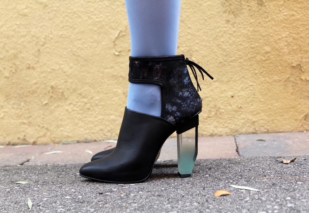 Toronto Fashion Week Outfit 2014 Miista Shoes