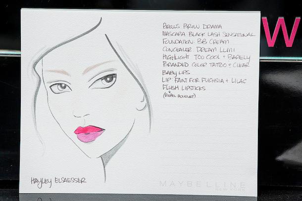 Toronto Fashion Week Beauty Hayley Elsaesser SS 2015-2