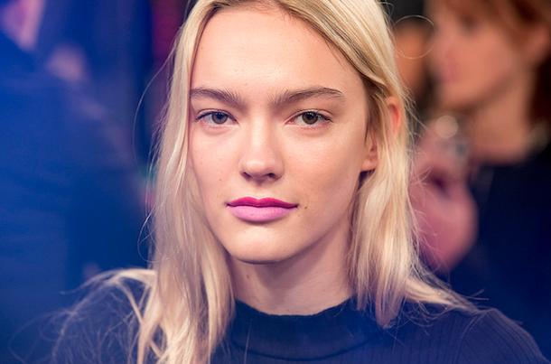 Toronto Fashion Week Beauty Hayley Elsaesser SS 2015