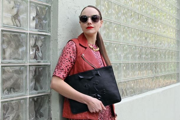 Toronto Fashon Week Style Soia & Kyo, Ela, Karen Walker, Vintage