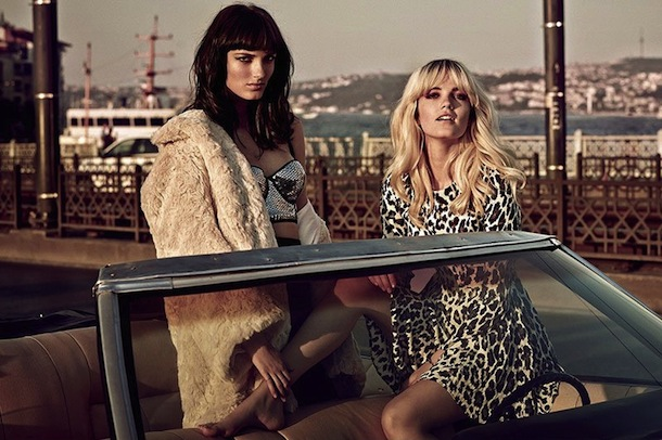 Say Lou Lou for H&M Fashion in Vogue UK