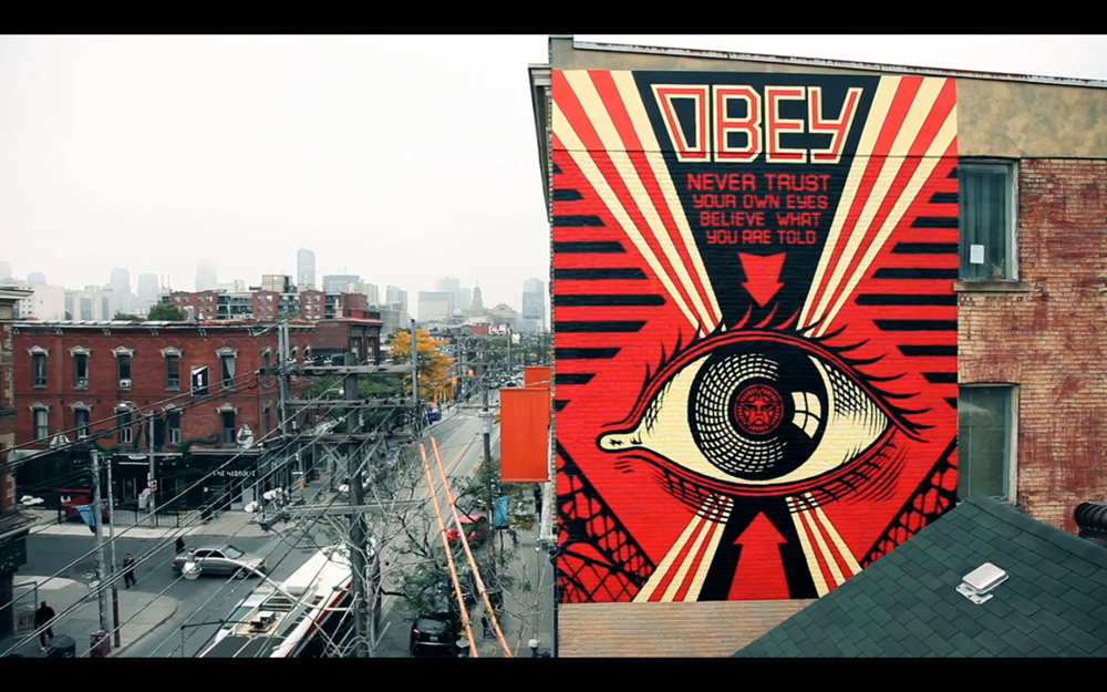 Shepard Fairey OBEY Hennessey Toronto