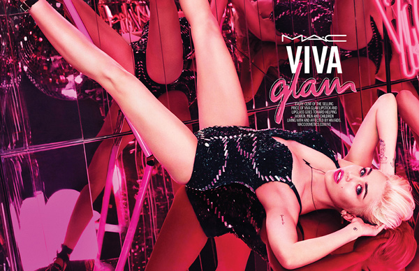 Miley Cyrus for M.A.C. Viva Glam collection