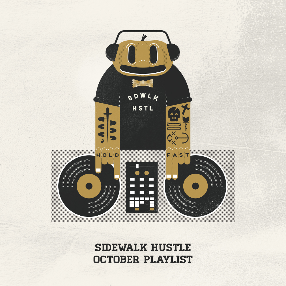 Sidewalk Hustle October 2014 Mixtape