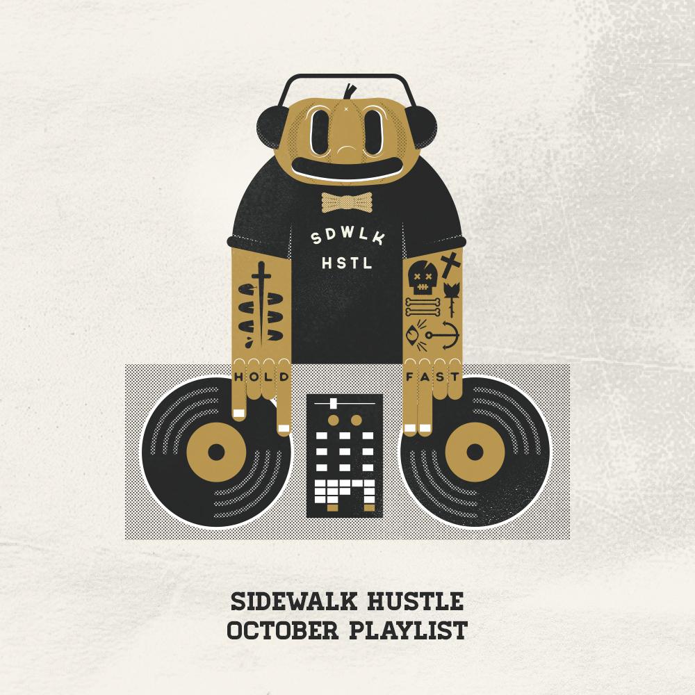 Sidewalk Hustle October 2014 Mixtape