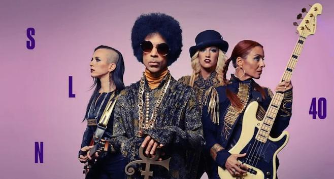 Prince performs on Saturday Night Live