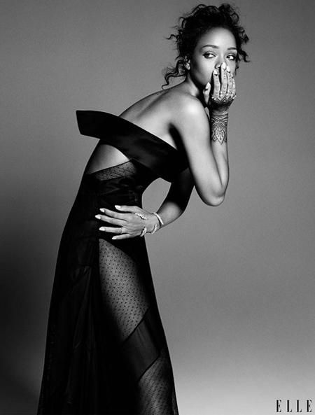 Rihanna for ELLE December 2014-3
