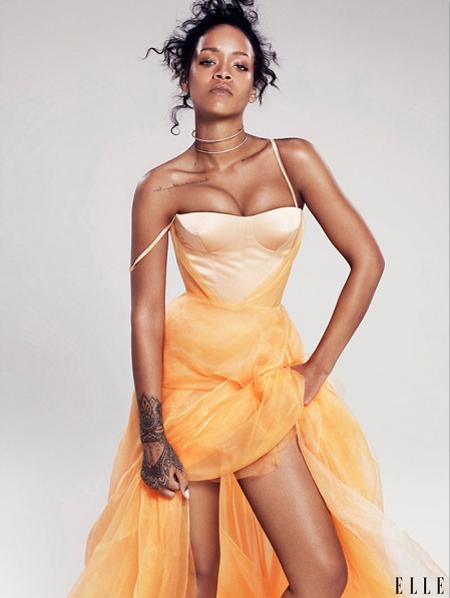 Rihanna for ELLE December 2014-6