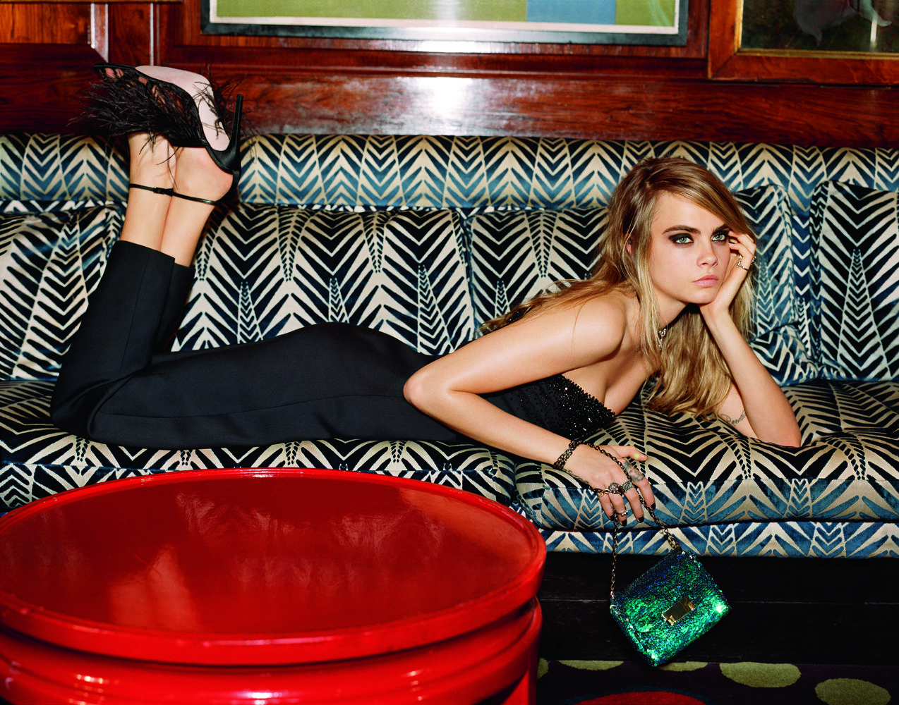 Delevingne cara for topshop holiday campaign new photo