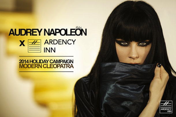 Audrey Napoleon x Ardency Inn 2014 Holiday Campaign