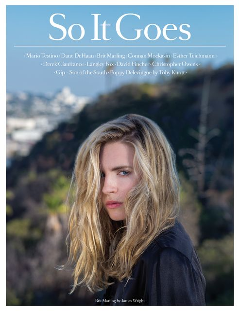 Brit Marling for So It Goes No.4
