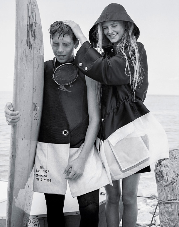 Brooklyn Beckham Jean Campbell Shores of Montauk for T Magazine 5