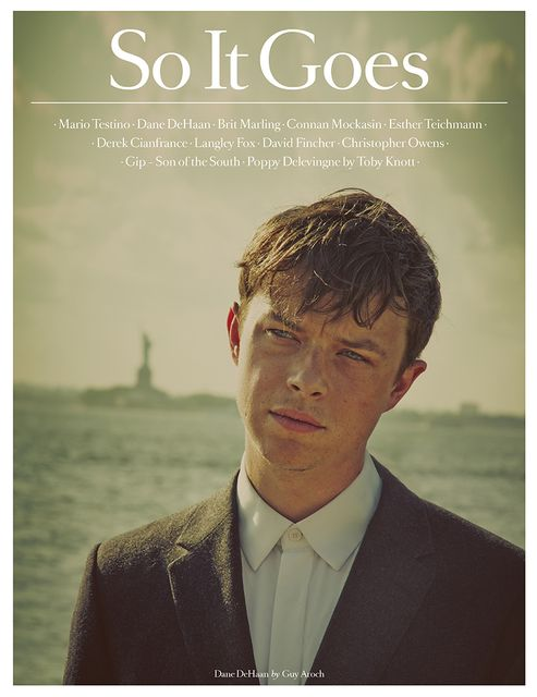 Dane DeHaan for So It Goes No.4