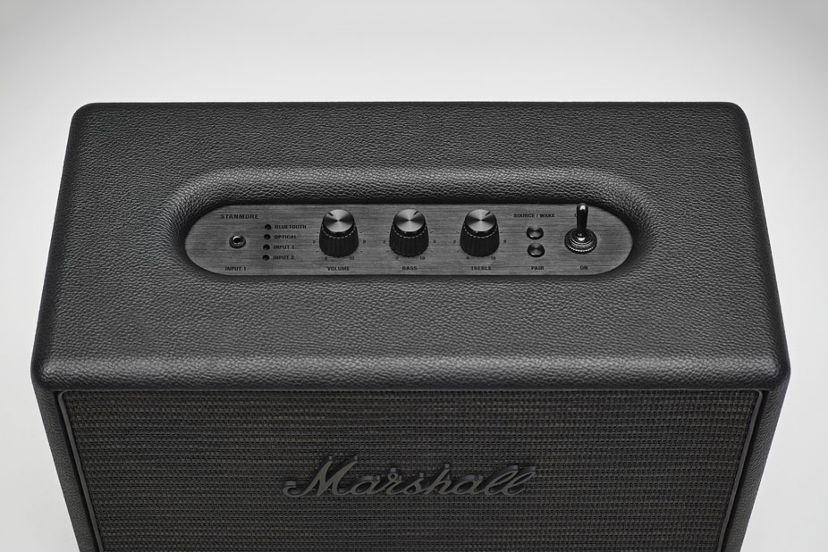 Marshall Stanmore Pitch Black Speaker-3