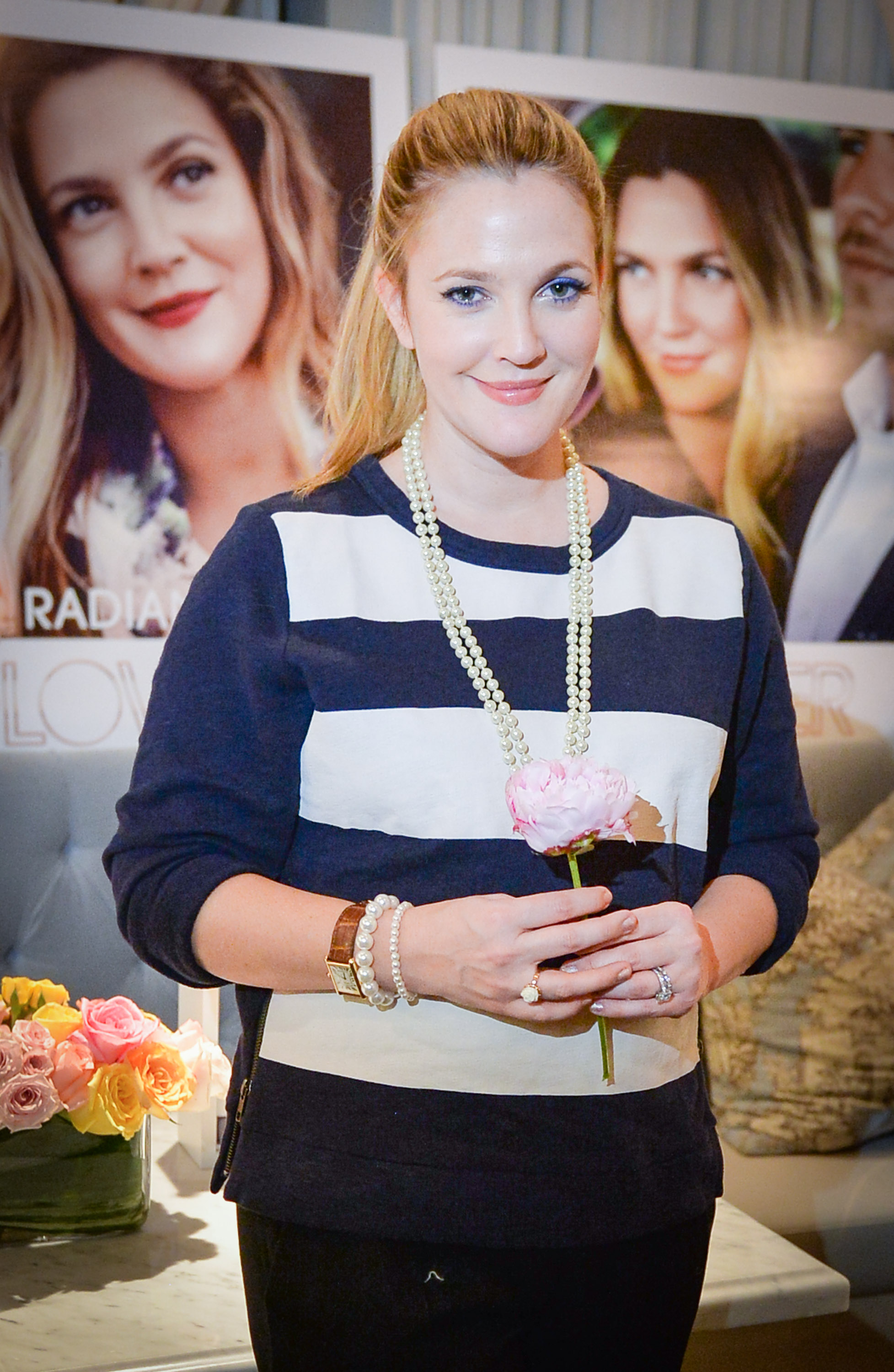 An Evening With Drew Barrymore And Flower Beauty Sidewalk Hustle