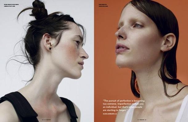 Helena Severin & Alisa Ahmann for i-D Magazine Winter 2014-2