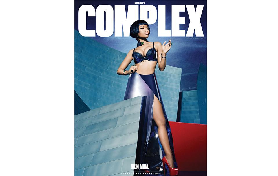 Nicki Minaj Covers Complex Magazine December 2014