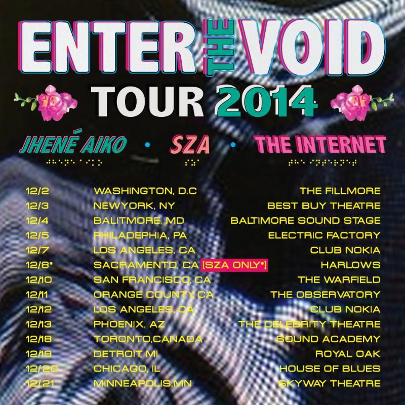 SZA Tour Dates
