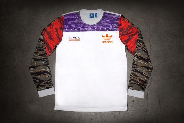Black Scale x adidas Consortium TShirt Front